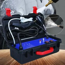 110V Portable Steam Cleaner 1400W Compact Steamer for Car /