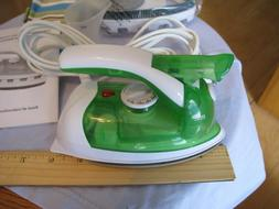 home essentials compact corded clothes steamer