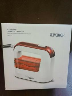 HOMEVER Steamer for Clothes, 1300W Handheld Red 40s Fast Hea