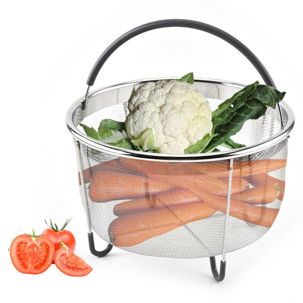 1PC Steel Basket Handheld for Home Store