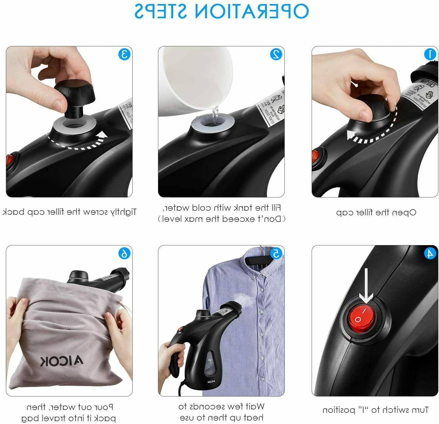 950W Portable Hand Held Clothes Fabric NEW