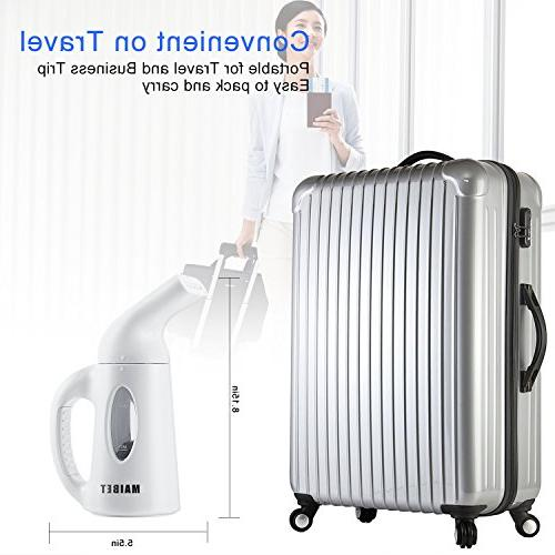 Mini Handheld Fabric Steamers Fast-Heating Powerful for Travel No Necessary