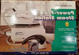 White Westinghouse Power-pro Steam Station Combo Iron Steame